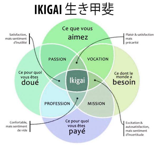 modèle ikigai japonais